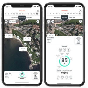 Course game plan from the Smart Caddie