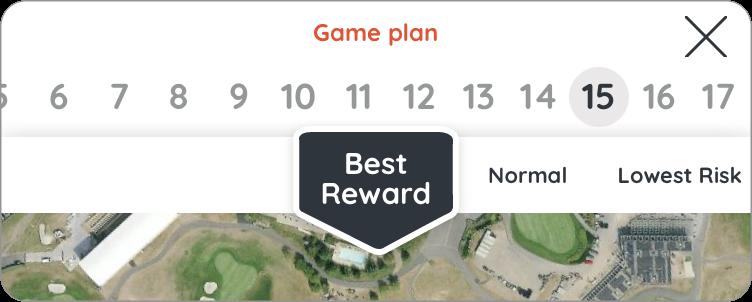 Golf plan risque max