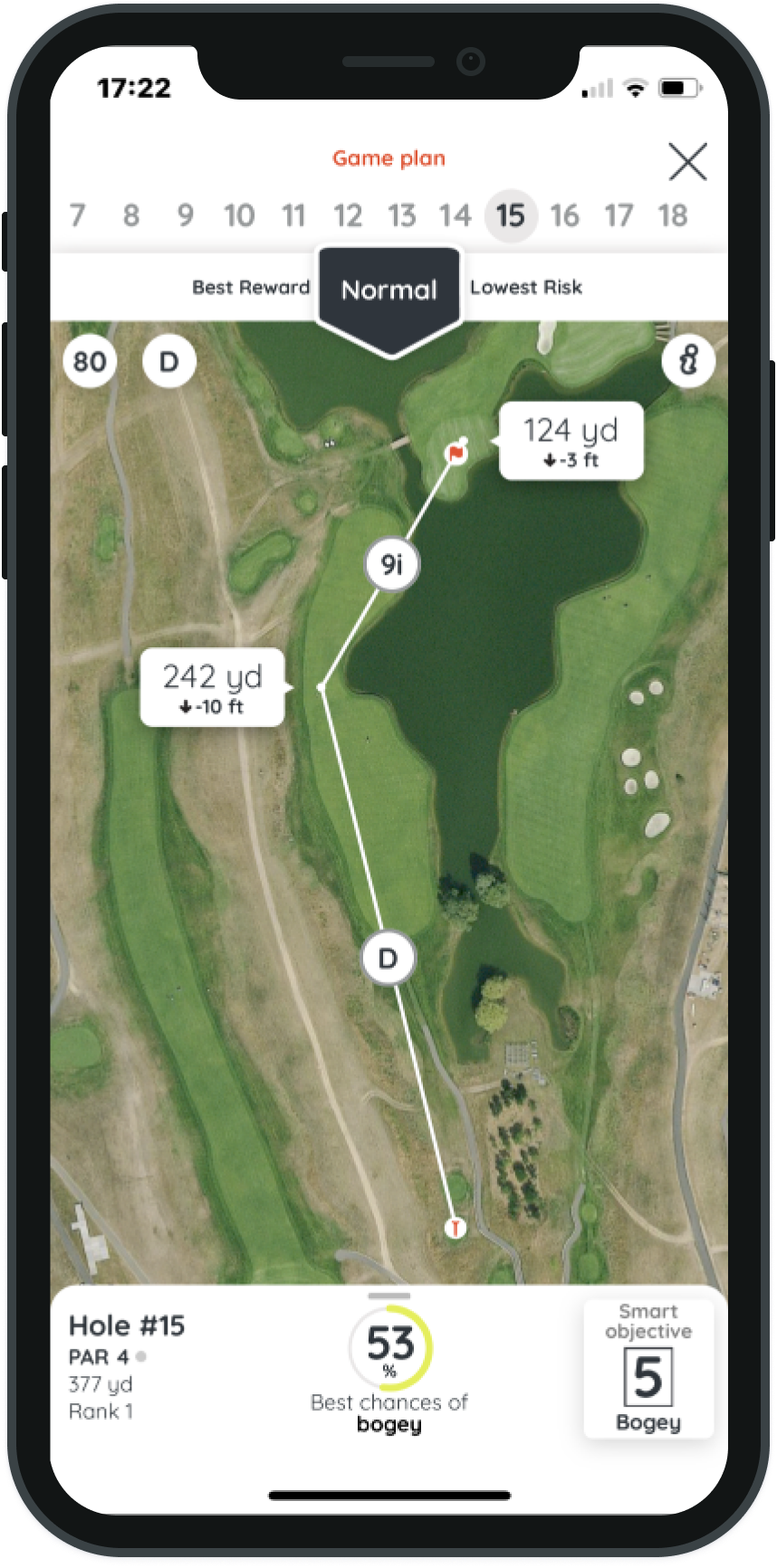 Golf plan