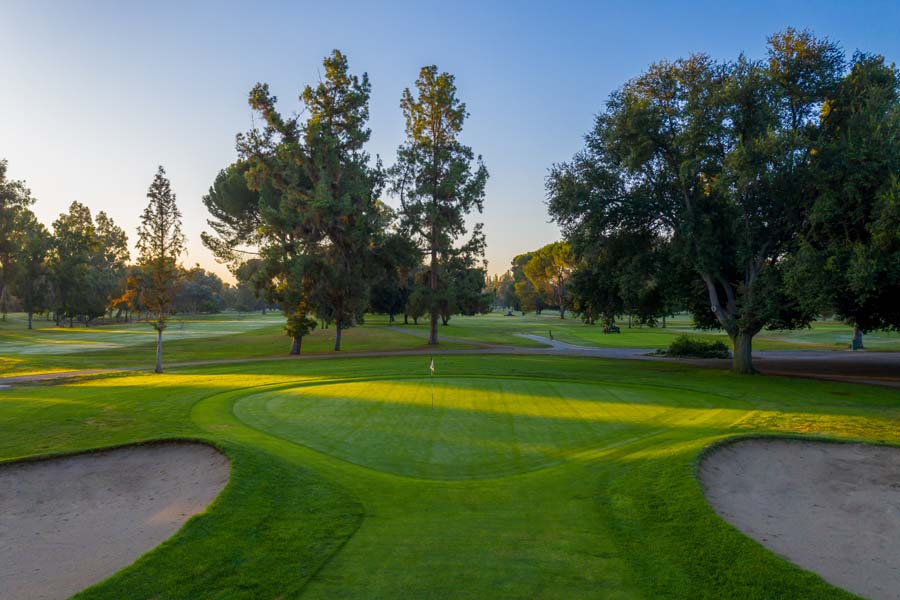 Golf course in Los Angeles