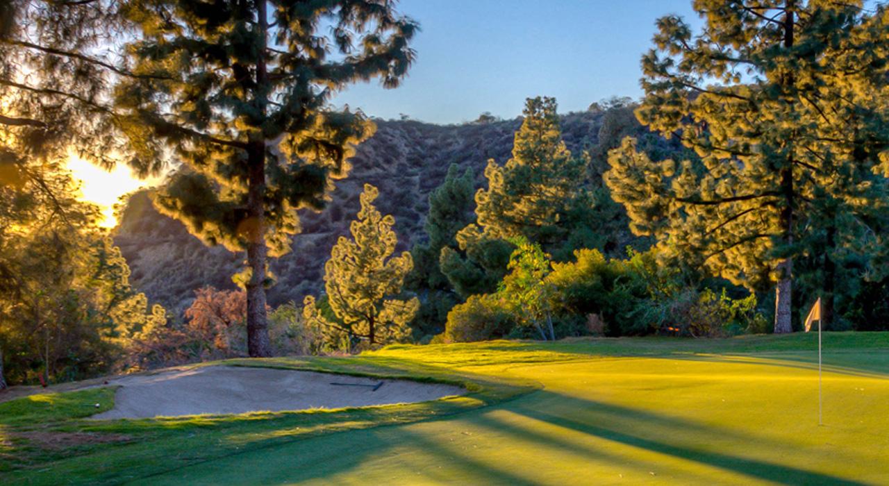 Golf course near Los Angeles