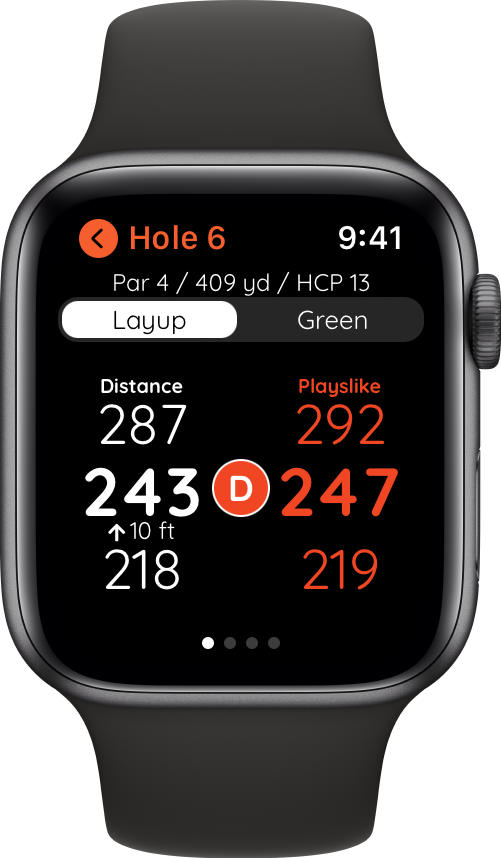 Golf with Apple Watch
